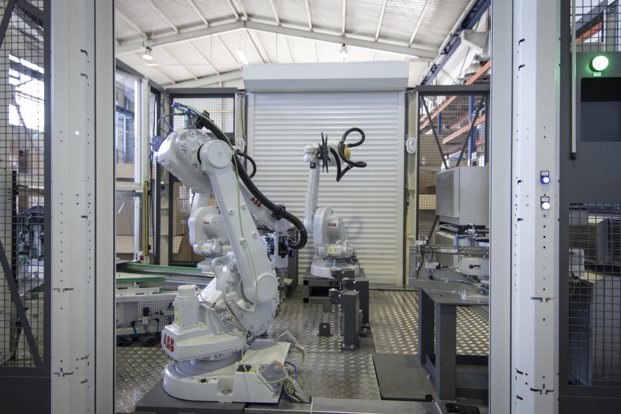 Automatisierung und Robotisierung